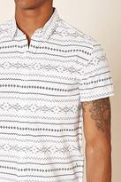 Forever 21 Tribal Print Shirt