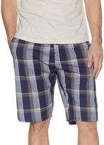 M&Co Blue check lounge shorts