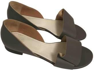 Maison Margiela Grey Leather Sandals
