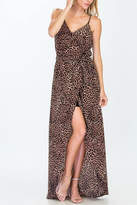 Olivaceous Cheetah Maxi Dress