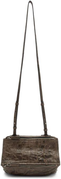 Givenchy Brown Mini Pandora Bag