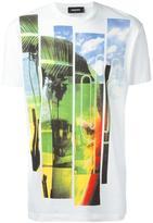 DSQUARED2 beachside bars T-shirt