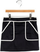 Milly Minis Girls' Colorblock Skirt