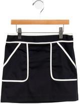 Milly Minis Girls' Colorblock Skirt
