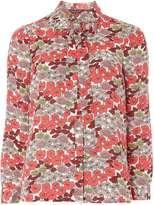 Dorothy Perkins Floral Bow Print Shirt