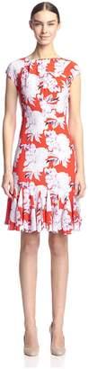 Eva Franco Women's Gilbert Flounce Hem Dress