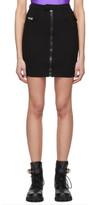 Versace Black Bodycon Skirt