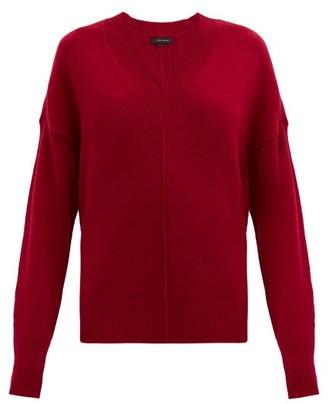 Isabel Marant Amy V-neck Cashmere-blend Sweater - Red