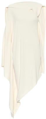 MM6 MAISON MARGIELA Asymmetric midi dress