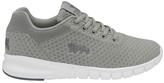 Lonsdale Grey And White 'tydro' Trainers
