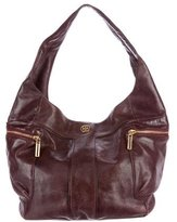 Tory Burch Large Leather Hobo