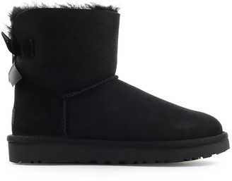 UGG Black Mini Bailey Bow Boot