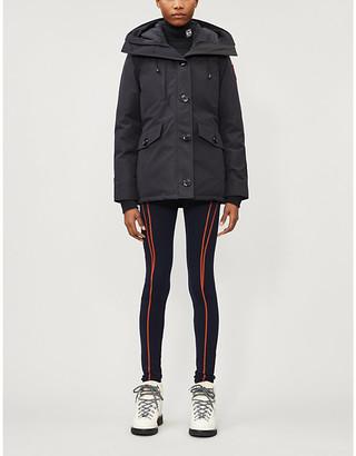 Canada Goose Rideau Black Label shell-down parka coat