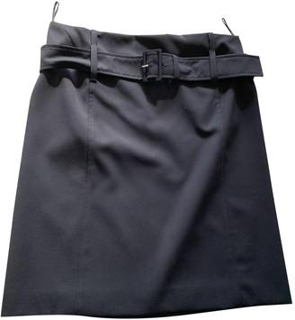 Prada Blue Wool Skirts