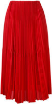 ASTRAET midi pleated skirt