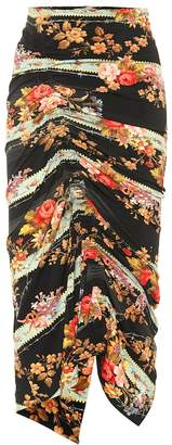 Preen by Thornton Bregazzi Monna floral stretch crepe skirt