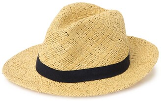 Halogen Novelty Weave Panama Hat
