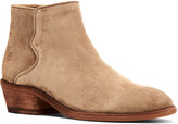 Frye Carson Piping Suede Booties