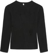 R 13 Cutout cashmere sweater