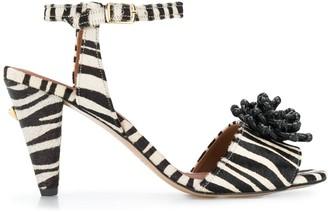 Osman Mae zebra sandals