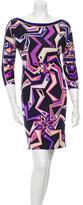 Emilio Pucci Printed Silk Dress