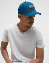 Patagonia Logo Baseball Cap In Blue