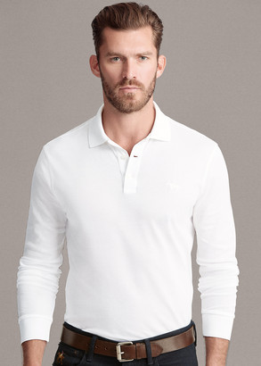 Ralph Lauren Custom Slim Long-Sleeve Polo