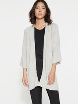 Halston Cotton Cashmere Cardigan