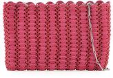 Paco Rabanne Iconic Tote Small Chain Shoulder Bag, Fuchsia