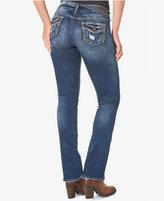 Silver Jeans Co. Suki Indigo Blue Wash Slim Bootcut Jeans