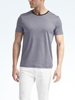 Banana Republic Luxury-Touch Ringer Crew