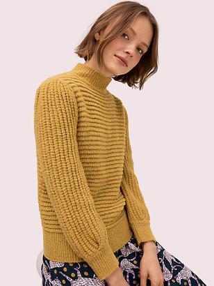 Kate Spade Textured Mockneck Sweater