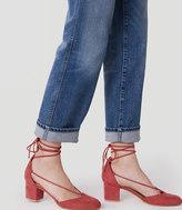 LOFT Strappy Block Heels