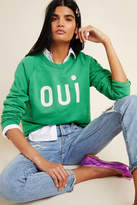 Clare Vivier for Anthropologie Oui Sweatshirt