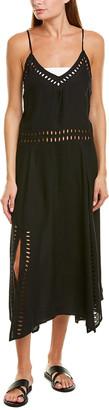 Vix Solid Deana Maxi Dress