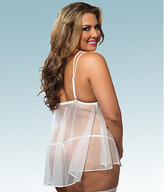 Seven Til Midnight Seven 'til Midnight I Do Babydoll with Matching G-String Plus Size Sleepwear