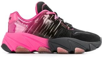 Ash Extasy gradient-effect sneakers