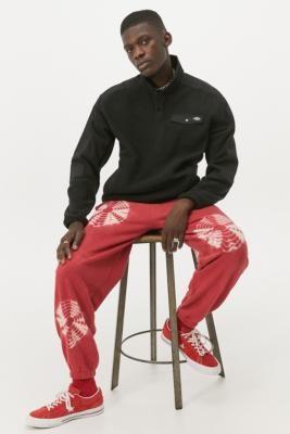 Dickies Port Allen Fleece Sweatshirt - Black S at Urban Outfitters