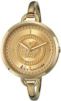Juicy Couture Women's 1901173 Lolita Analog Display Quartz Gold Watch