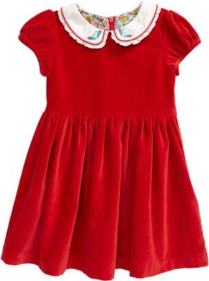 Boden Kids' Velvet Dress