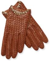 Portolano Chain Leather Gloves
