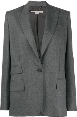 Stella McCartney Pocket Detail Single-Breasted Blazer