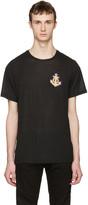 Pierre Balmain Black Anchor T-Shirt