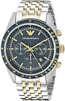 Emporio Armani Men's AR6088 Sport Two Tone Watch