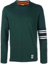 Raf Simons sleeve detail sweatshirt