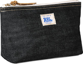 Ralph Lauren Selvedge Denim Pouch