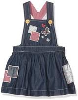 Pumpkin Patch Baby Girls 0-24m Patchwork Denim Pinnie Dress