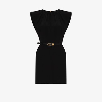 Versace Belted Mini Dress