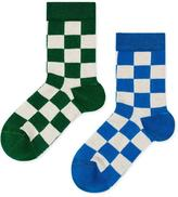 Hansel from Basel Queen Check Crew Socks 2-4 Years