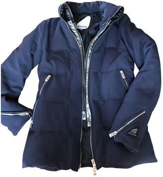 Hogan Blue Coat for Women